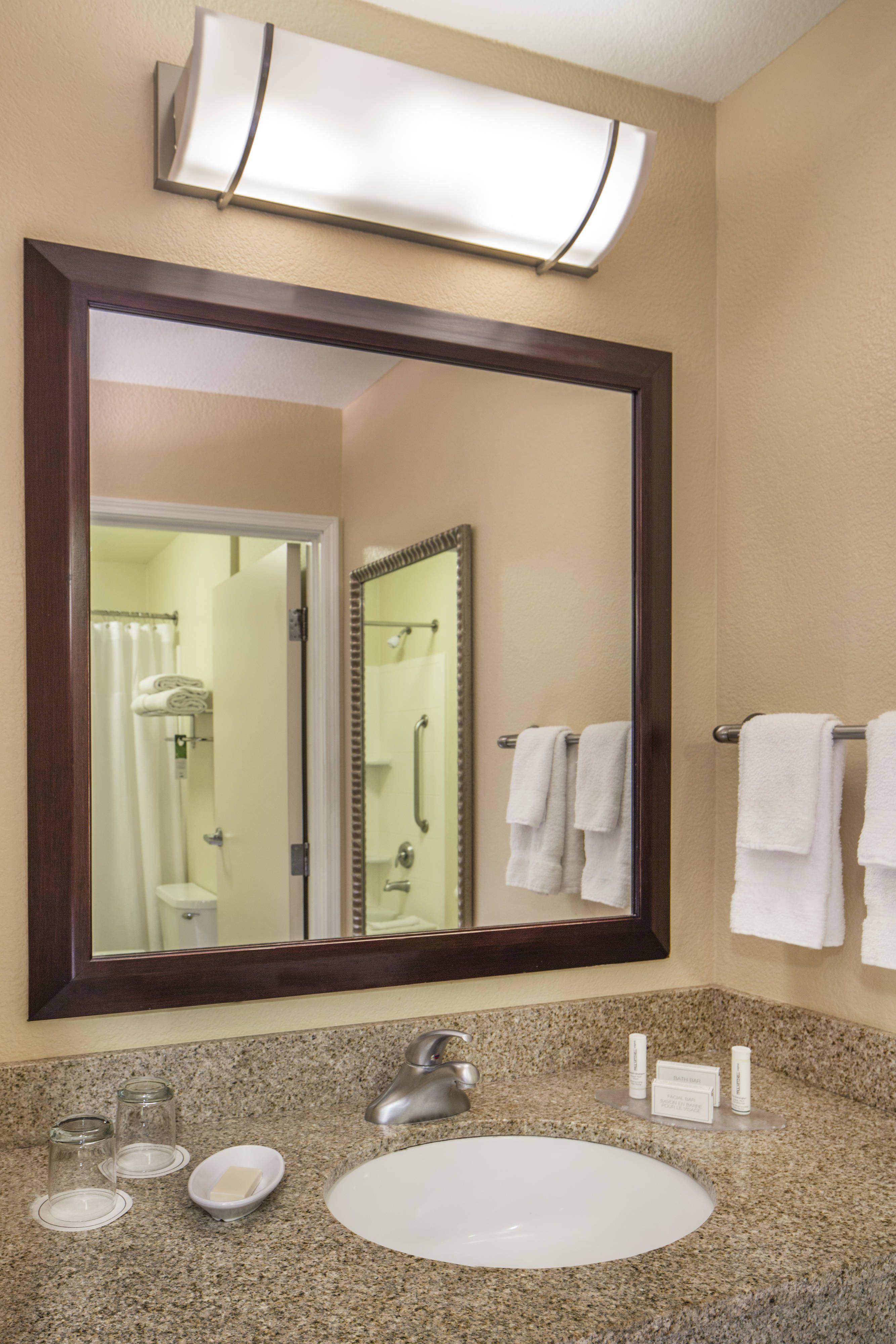 Springhill Suites Laredo Guest Bathroom Vanity Relax Travel