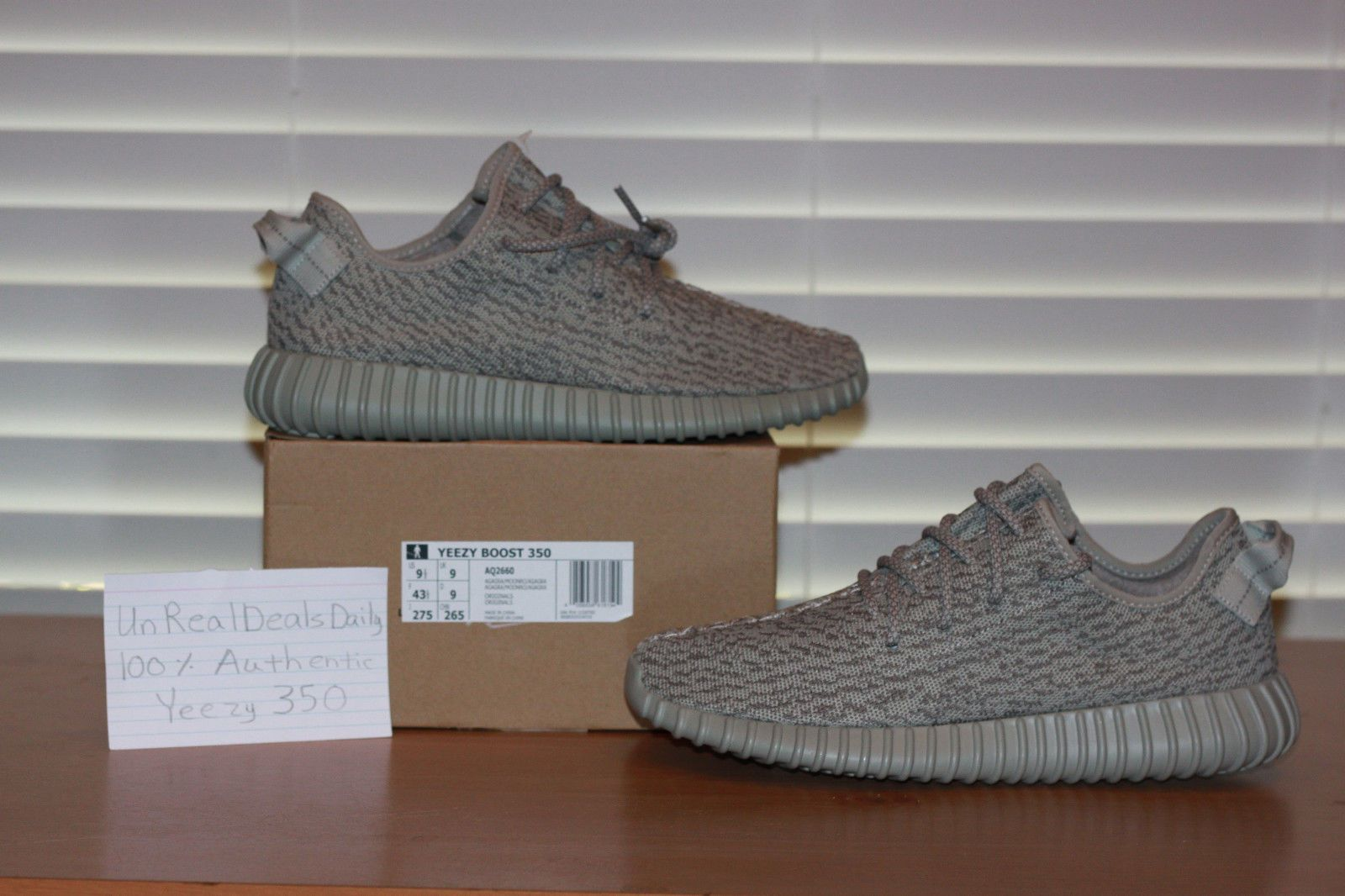 090e7f8920193 MESSAGE FOR 1.2 ADIDAS YEEZY 350 V1 MOONROCK SIZE 9.5 100% AUTHENTIC ...