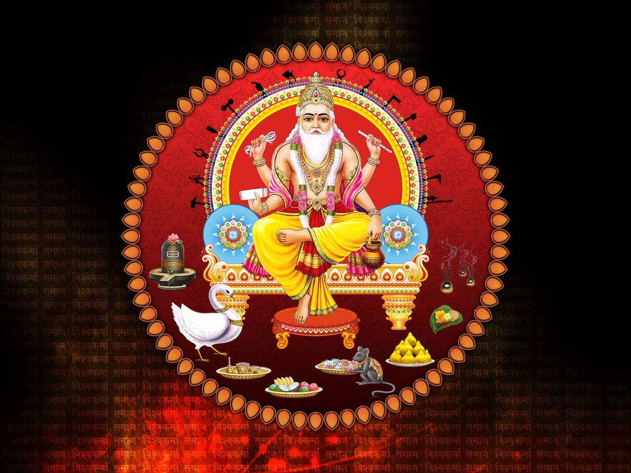 Download Wallpaper Lord Vishwakarma - 0352b8ad2fa7ecf0b6df035df8391983  Trends_383514.jpg