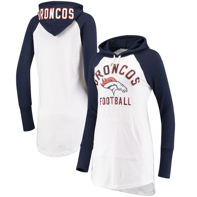Denver Broncos G-III 4Her by Carl Banks Women s All Division Raglan Sleeve  Pullover Hoodie ec4b52c5a