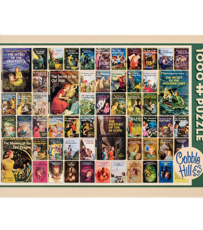 Cobble Hill Vintage Nancy Drew Puzzle 1000 Piece