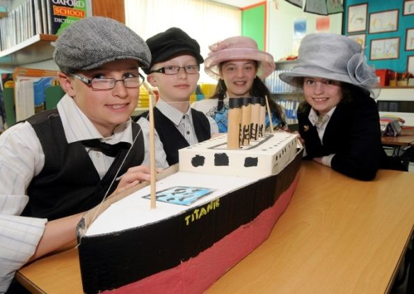 Children Raise Titanic S Awareness With Project Titanic Fun Education Projects For Kids