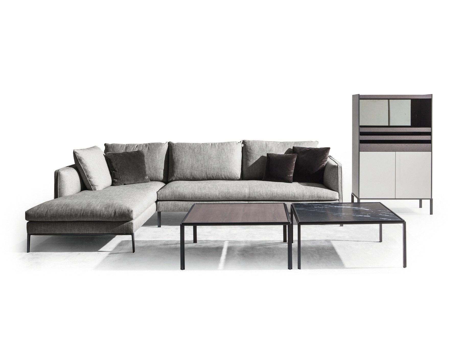 PAUL Sofa with chaise longue by MOLTENI & C design Vincent Van