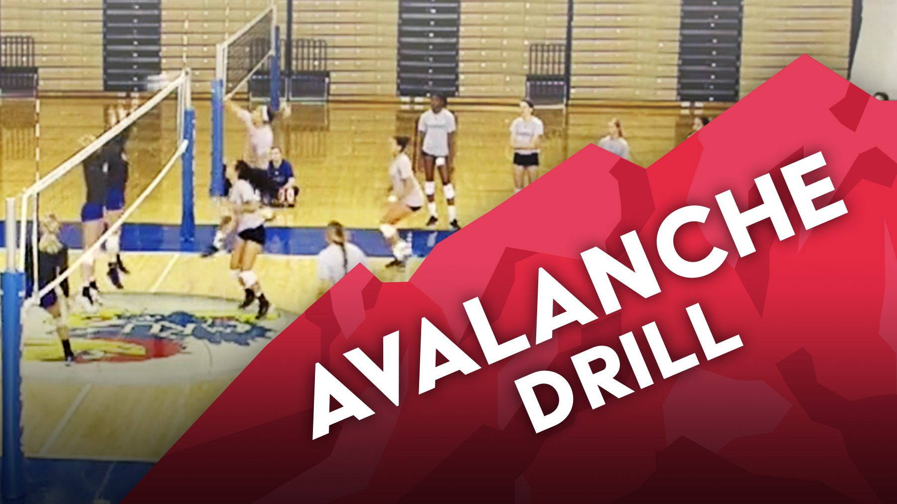 Avalanche Drill To Reinforce Point Runs The Art Of Coaching Volleyball Coaching Volleyball Volleyball Volleyball Drills