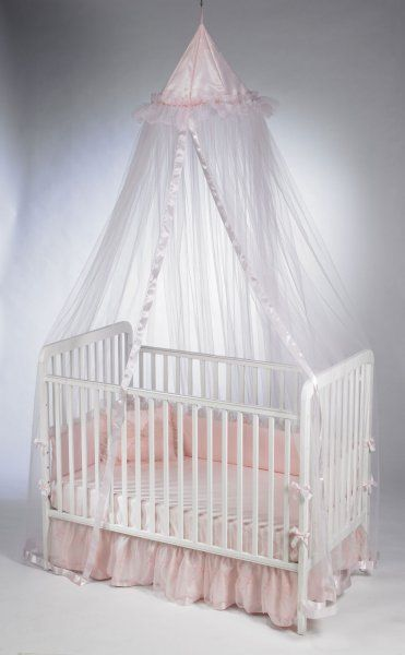 Princess Crib Canopy Little Sisters Baby Furniture Ideas Room