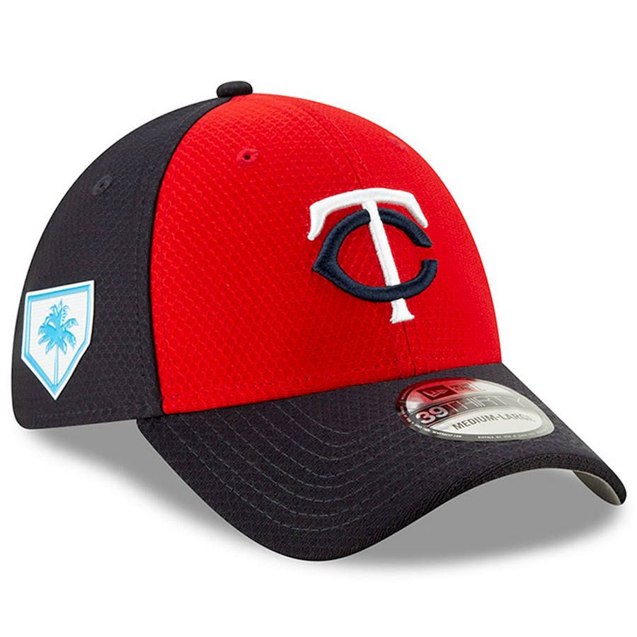 finest selection d473b ee6c7 Men s Minnesota Twins New Era Red 2019 Spring Training 39THIRTY Fitted Hat,   37.99