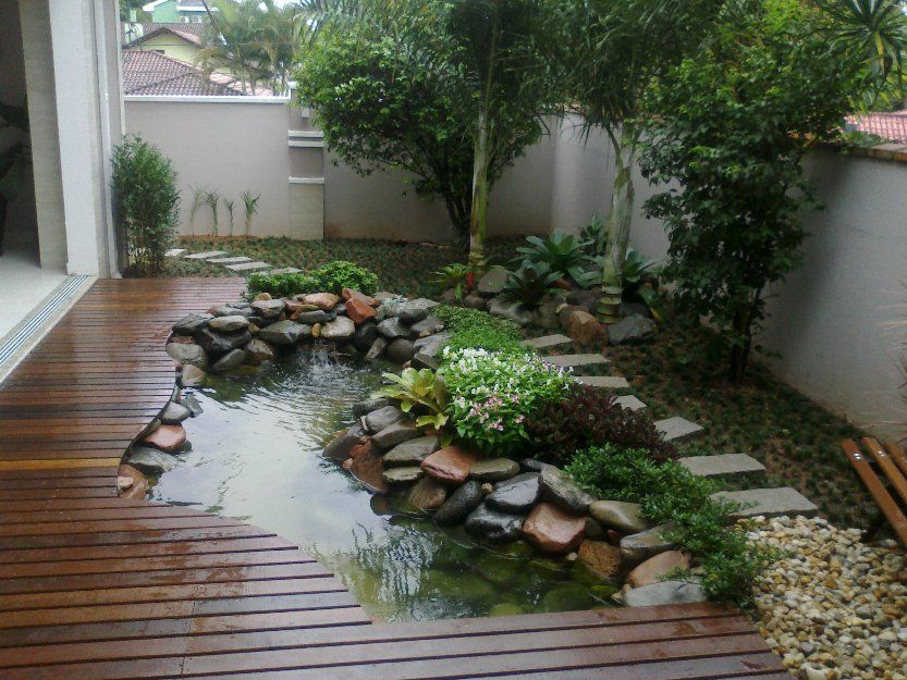 Best 25 Small backyard ponds ideas on Pinterest Small garden