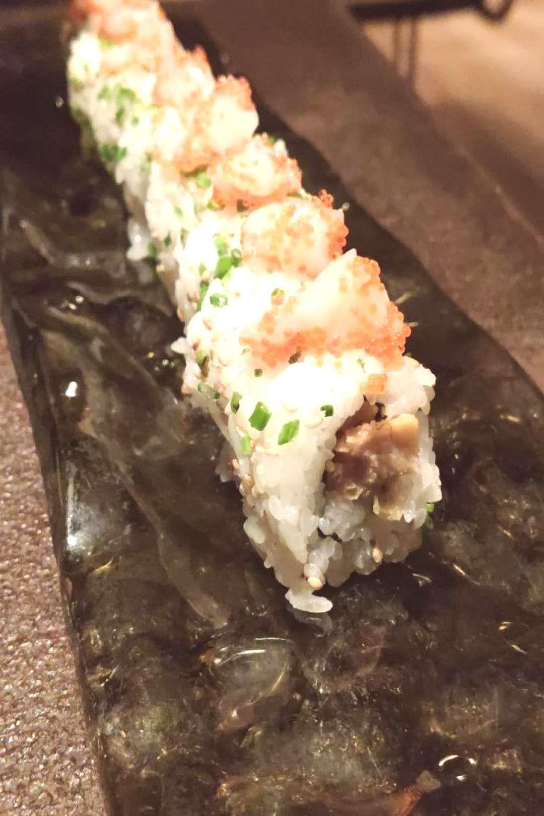 Sushirolls Karaahe Servido Tartar Cigala Pollo Yama Roll