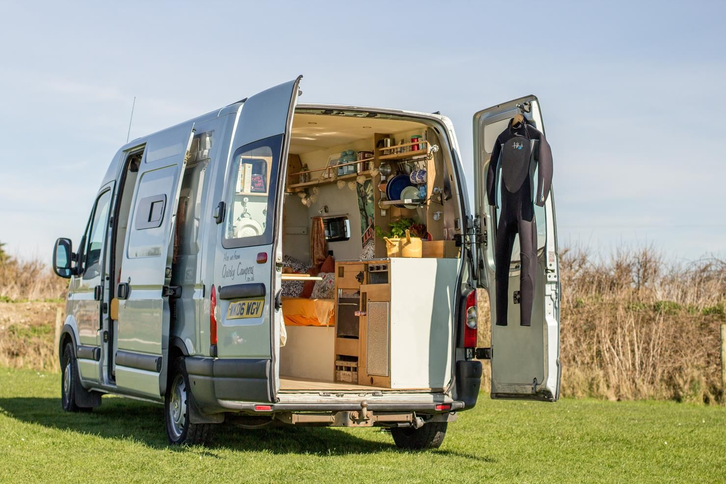 Campervan Hire Quirky Campers Home Of Handmade Campers Campervan Hire Rv Camper