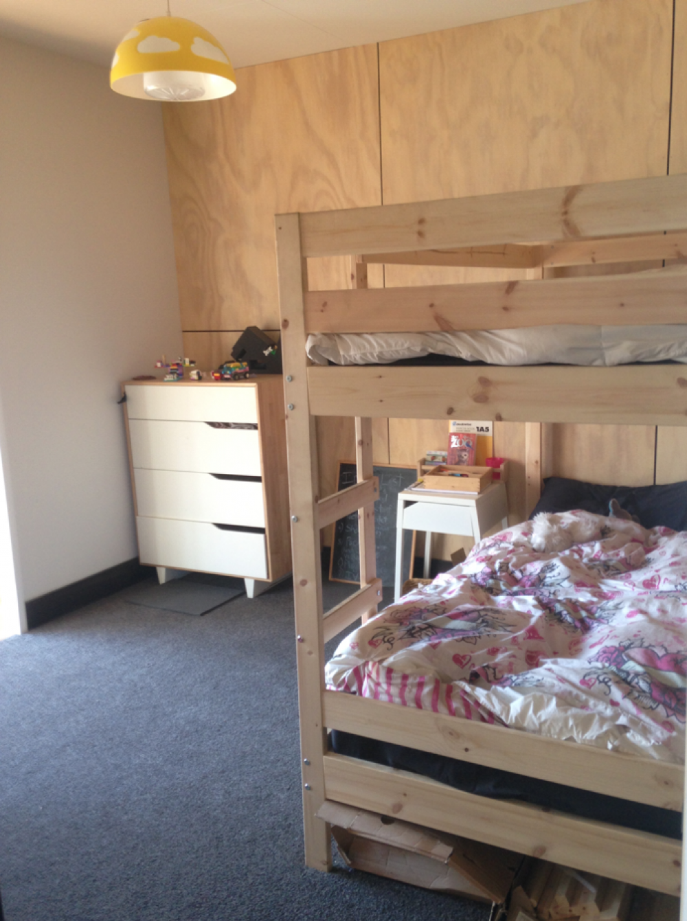 ply, plywood, bunkroom, kids bunks, building nz , buildme.co.nz