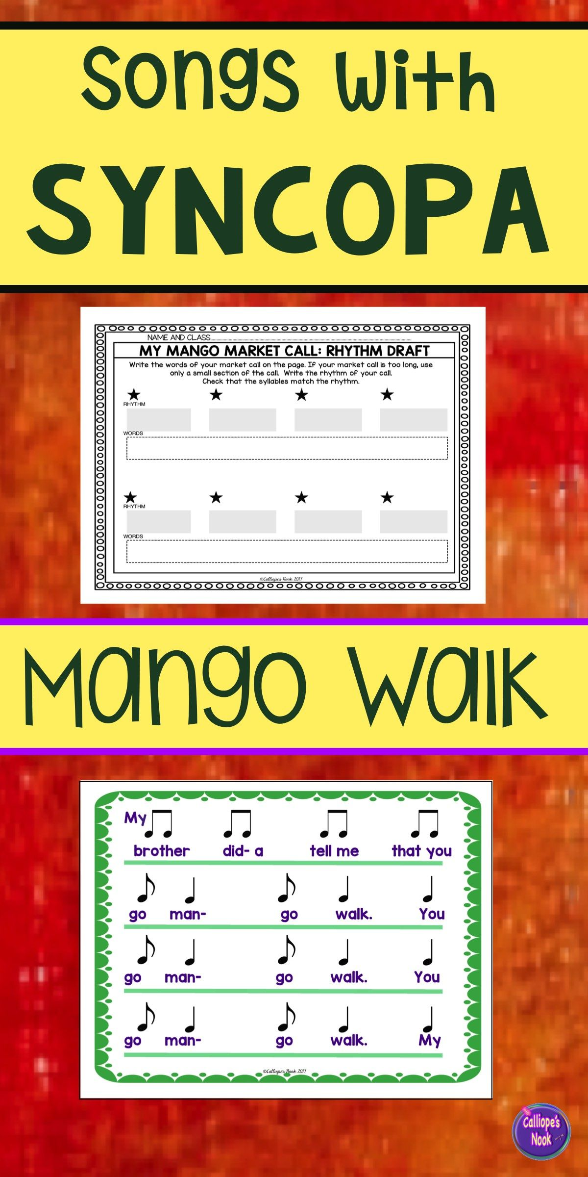 Syncopation Song Syncopa With Mango Walk And Composition