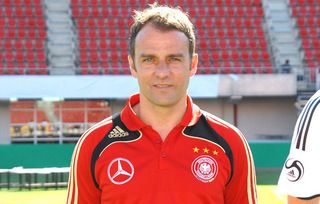 Hans-Dieter Flick, Assistent des Bundestrainers (Foto: Public Address)