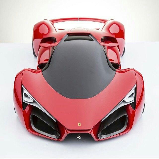 Ferrari Concept Dengan Gambar Mobil Konsep Mobil Sport
