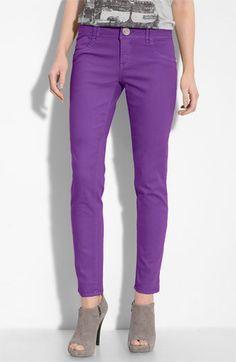 purple jeans. on Pinterest | Purple Pants, Purple Skinny Jeans and ...