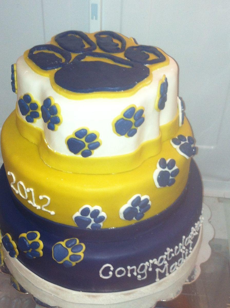 Custom Made University Of Pittsburgh Cake Ianu0027s