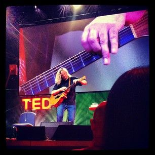 @Ed Scanlan #tedglobal #PrestonReed plays a sick #percussionguitar