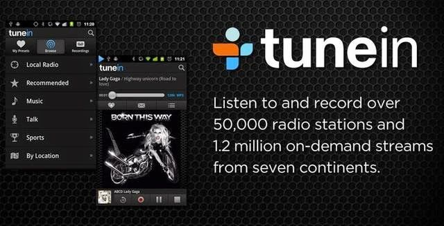 TuneIn Radio Pro v13.5 for Android ~ Computer Kings Quetta