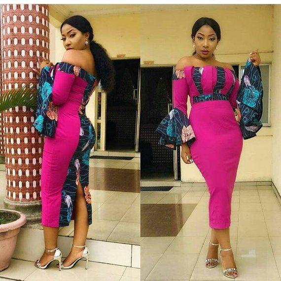 d0004b5737 African print dress