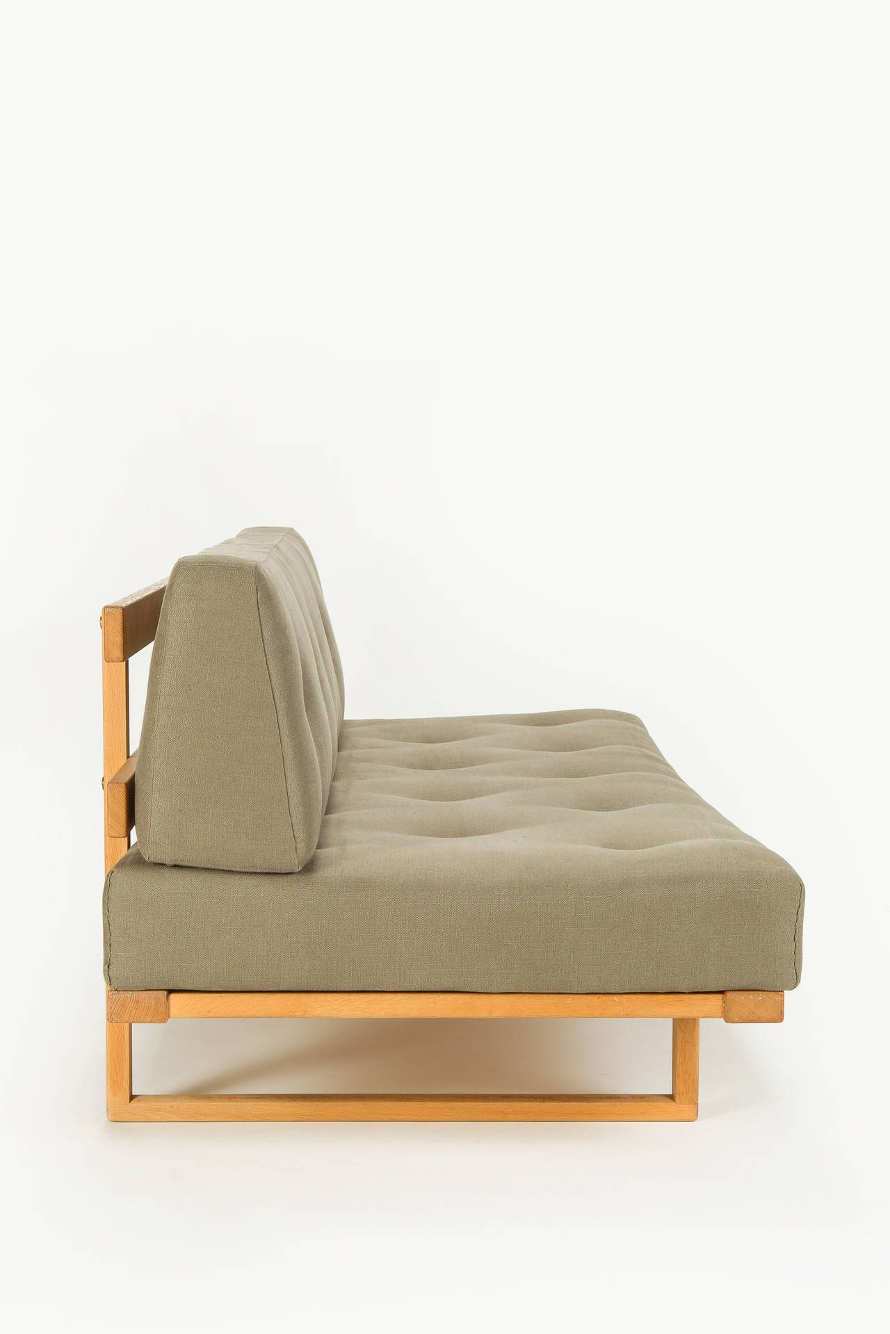 Brilliant Danish Oak Sofa Daybed By Borge Mogensen For Fredericia Alphanode Cool Chair Designs And Ideas Alphanodeonline