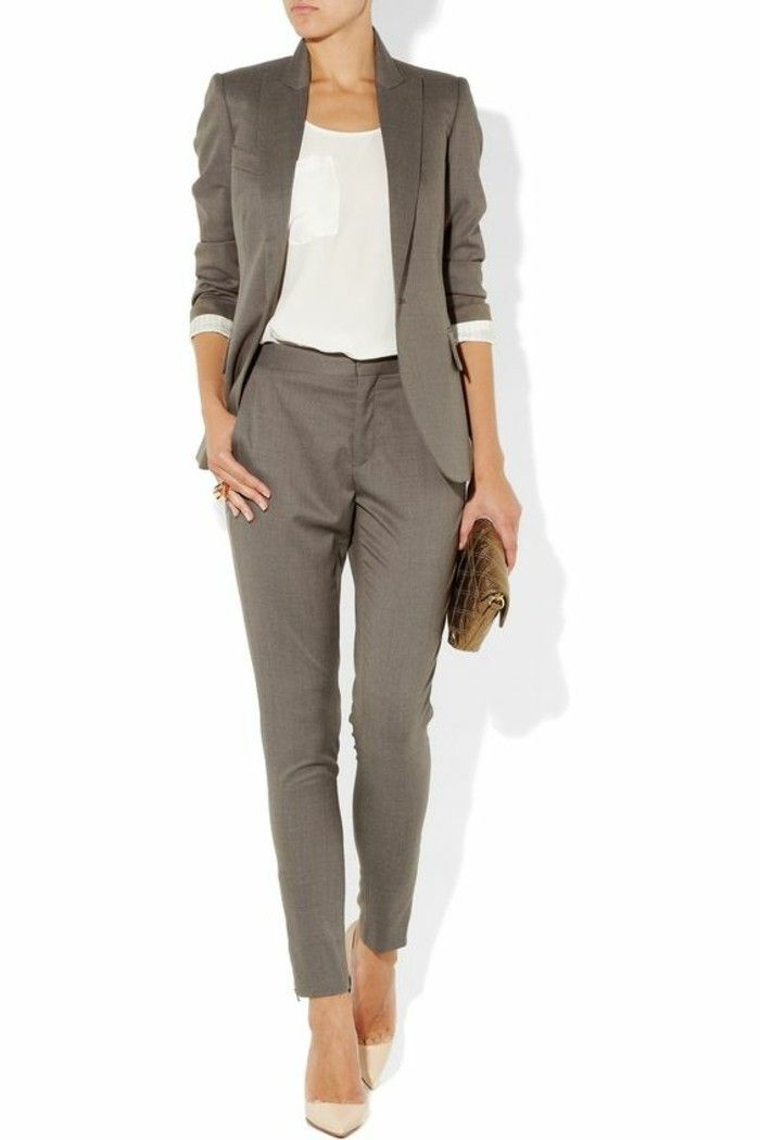 beige 00 beige pince femme femme chic pantalon gris et pantalon WYwvyYnASq