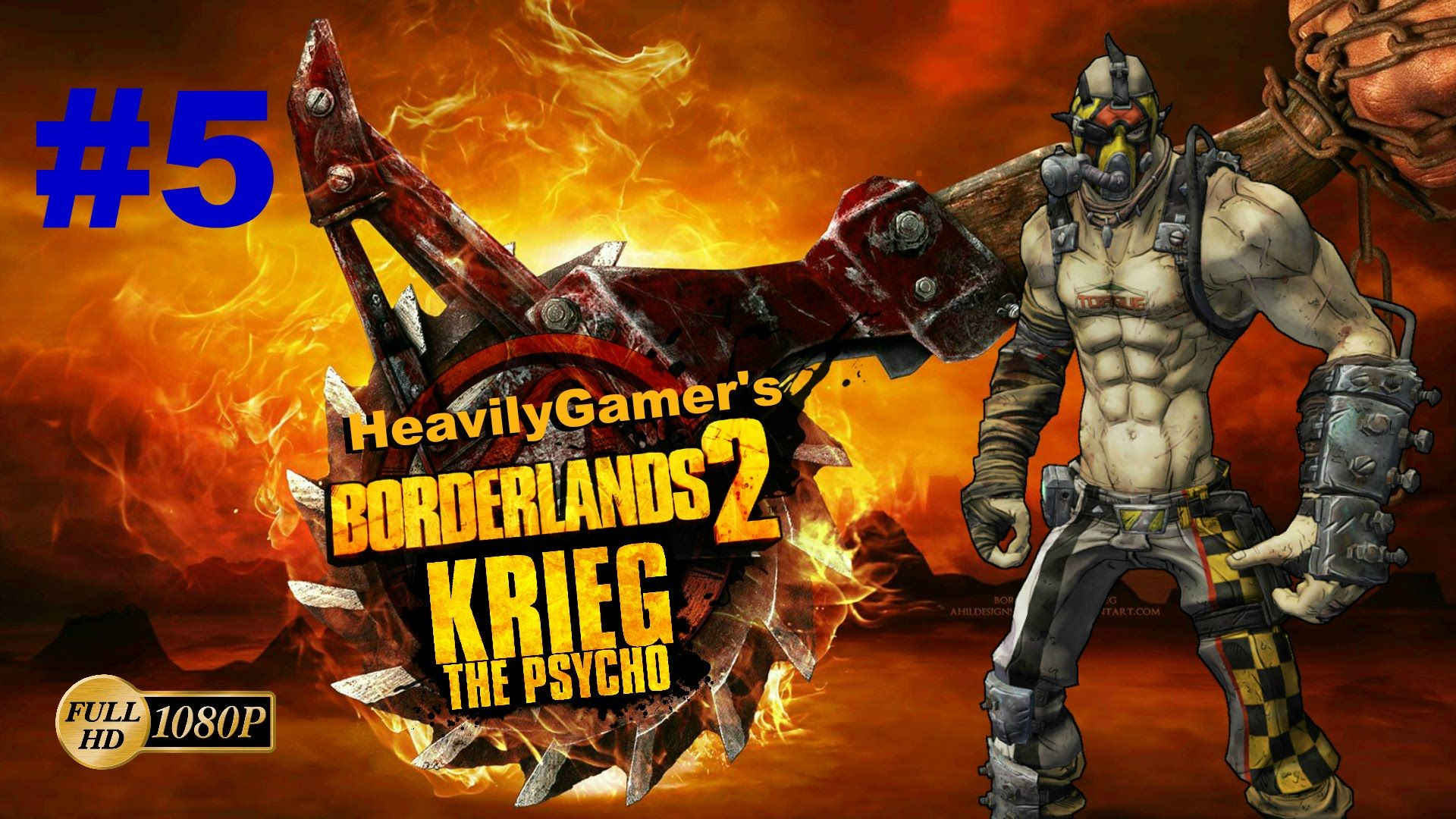 BORDERLANDS 2 | Krieg the Psycho Lets Play to 72 Part 5:Medical Mystery/...