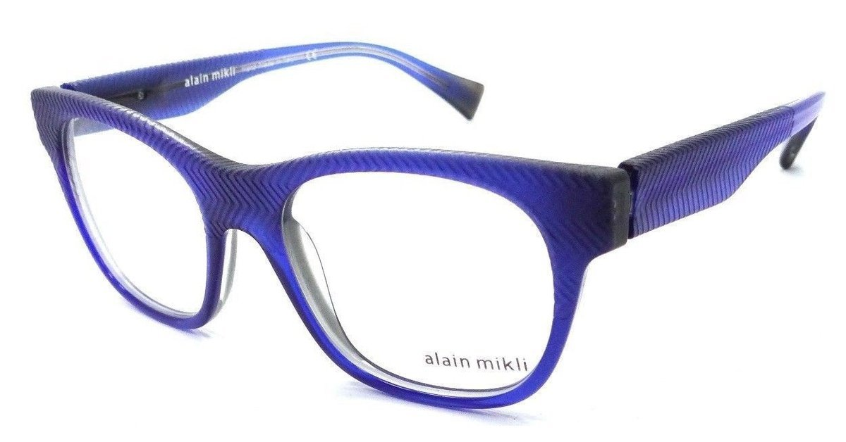 e8e44a918769 Alain Mikli Rx Eyeglasses Frames A03025 3413 51x18 Blue Made in Italy