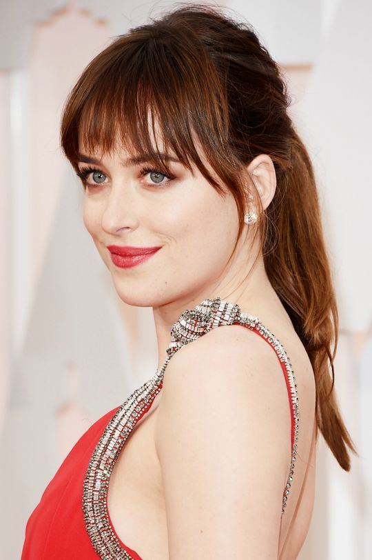 Bangs Celebrity at oscars video