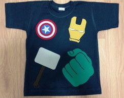 3f3e0dd4b9 Camiseta Infantil Vingadores