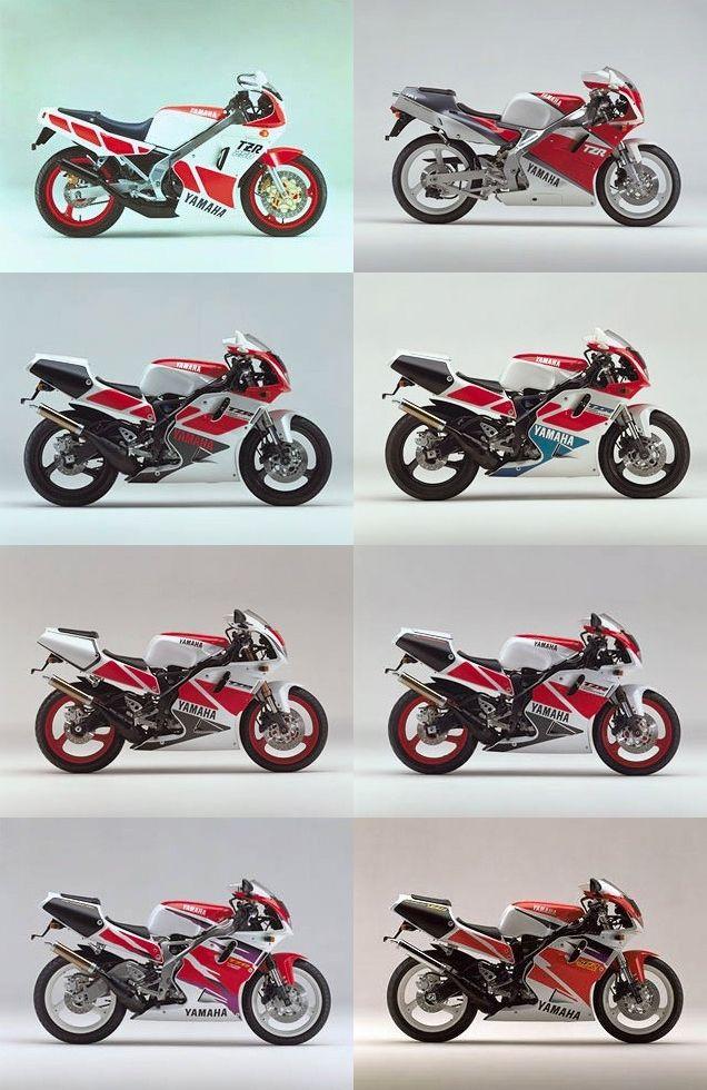 History of YAMAHA TZR250 | MotoPorn | Yamaha bikes, Yamaha fzr 600