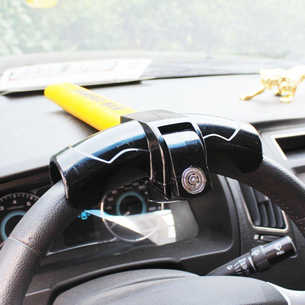 Anti Theft Steering Wheel Lock Car Van Security Rotary Steering