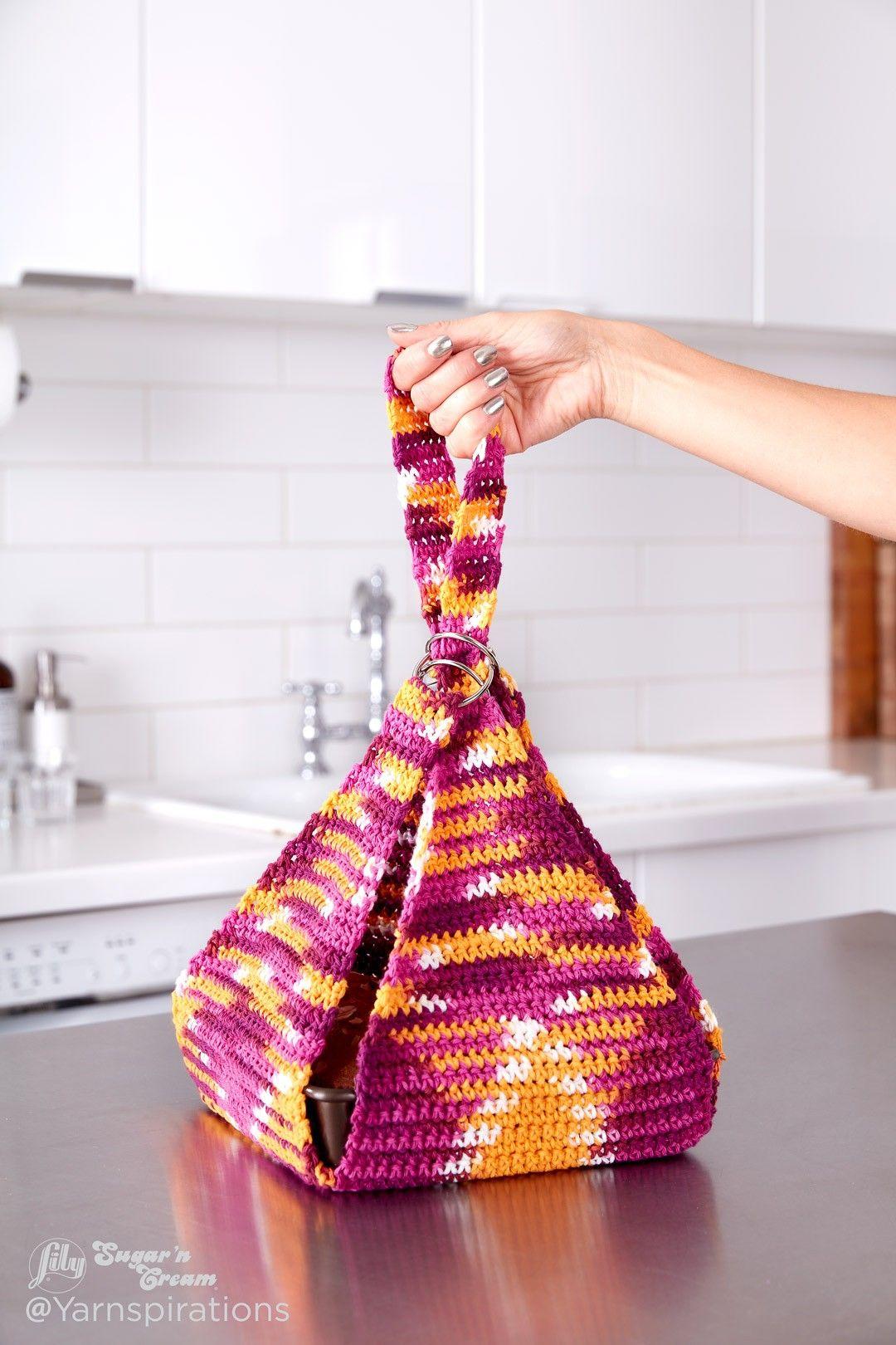 Casserole Carrier to Crochet | crochet patterns | Pinterest | Tejido ...