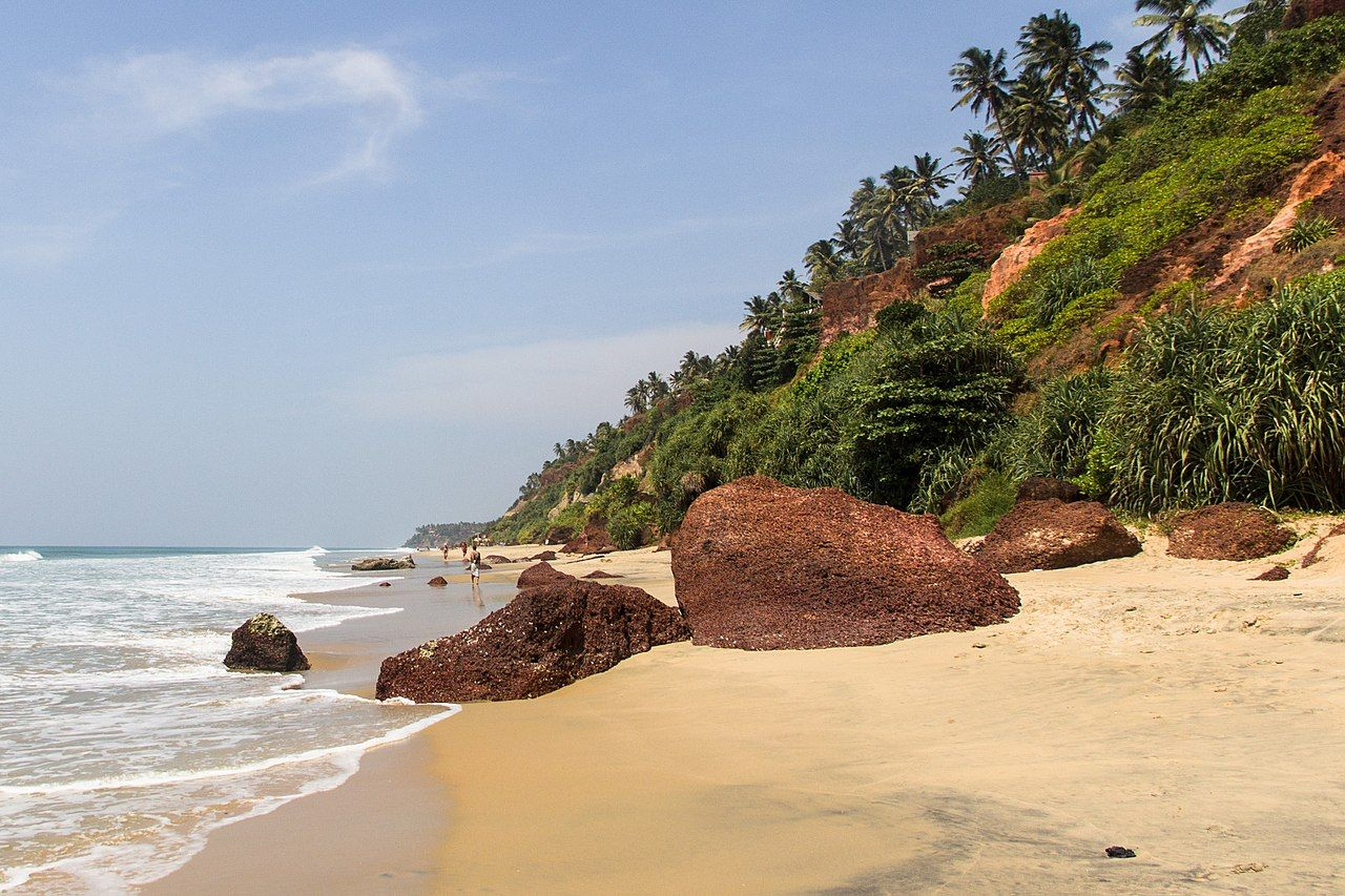 Indian Paradise, Kerala Varkala, India travel, Outdoor
