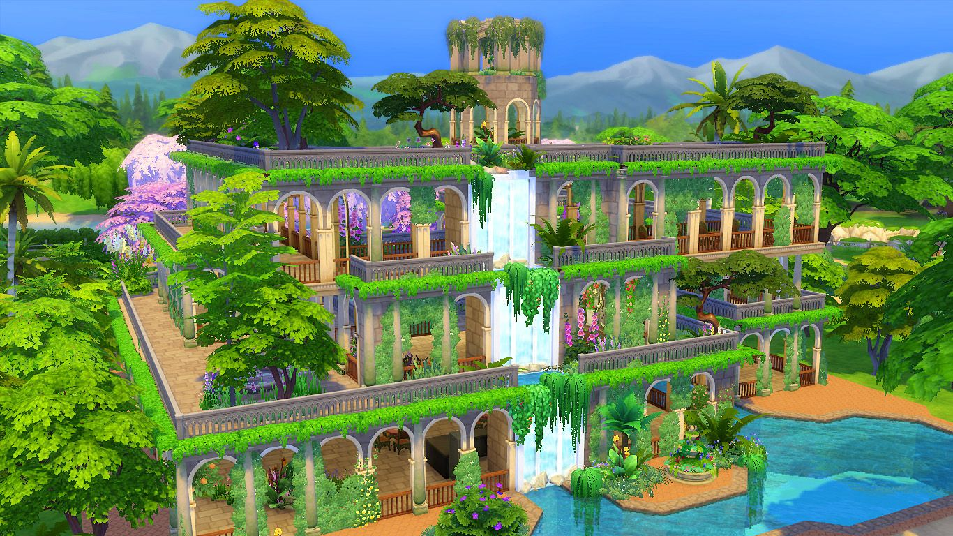 0353ded299cc47be29521e3f41ebb8f7 - The Hanging Gardens Of Babylon Was Built By