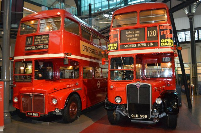 London Bus Fat Frocks: On the Buses - London Transport