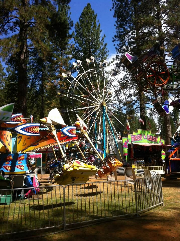 Fun at the carnival at the Nevada County Fair. | Carnival ...