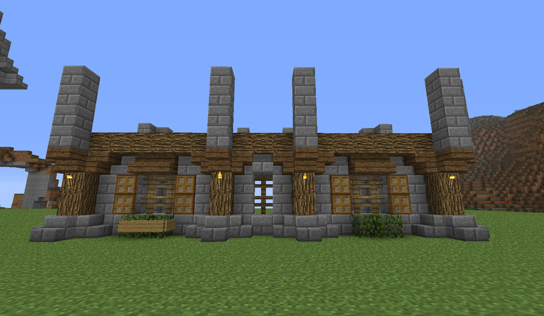 Related Image Minecraft Houses Survival Stone Houses Fresh House