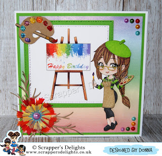 Chibi New Release June Scrapper's Delights Rainbow