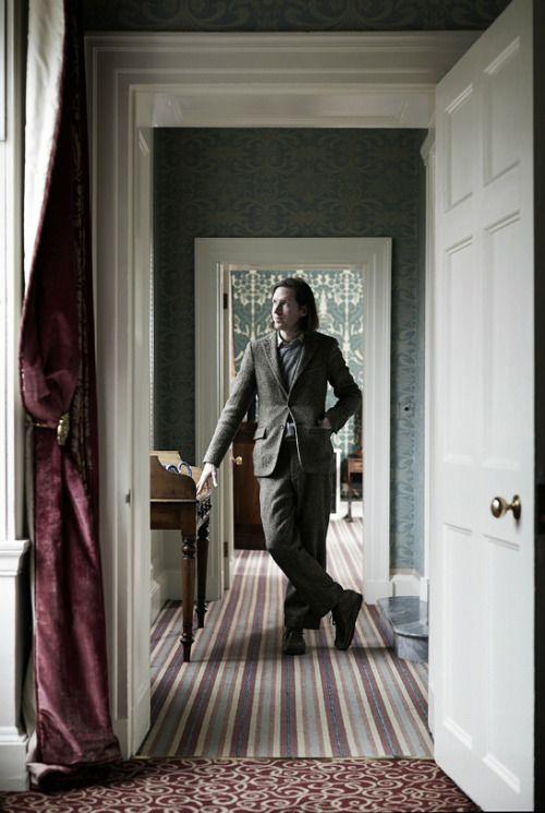Wes Anderson.  Photo by Mattia Zoppellaro.