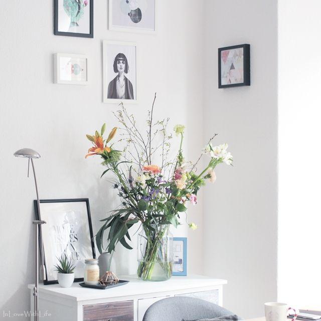 Kleine Roomtour durch das Wohnzimmer von Bloggerin Sarit auf www