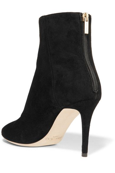 9745b93e3fd Jimmy Choo - Duke Suede Ankle Boots - Black - IT
