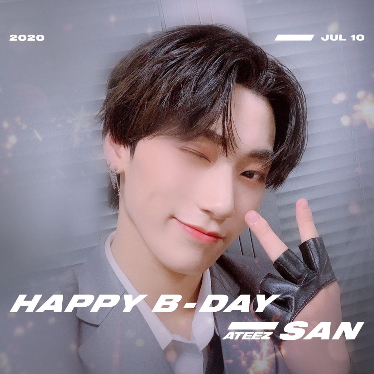HAPPY BIRTHDAY SAN! ⠀ Happy birthday to choi san 🎉 Comment