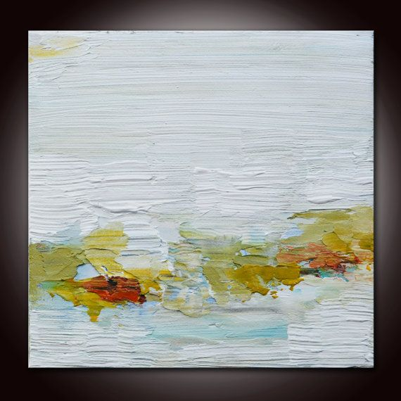 Abstract Landscape Painting Colorful Abstract Original Abstract Painting Original Minimalist Painting White Art Abstrac Abstracto Pinturas Pintura Acrilica