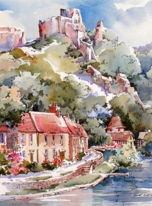 Gallery Bridget Austin Watercolor Landscape Watercolor Art