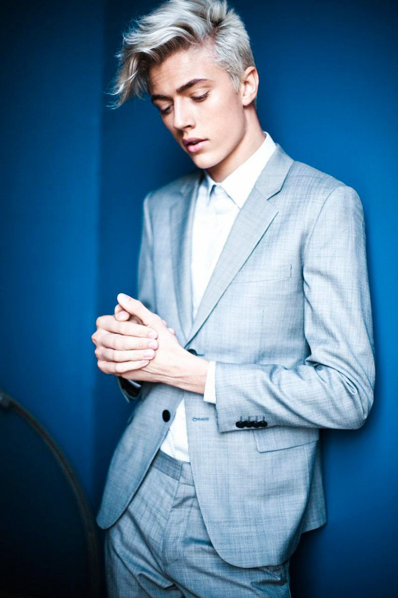 How to Dye Your Hair White  Lucky blue smith Lucky blue and Silver