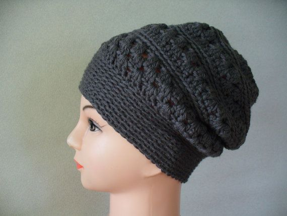 Crochet hats in 4 different colours by HandmadeFromLV on Etsy