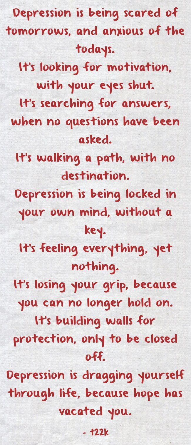 Anxiety And Depression Quotes They Would Be Lost  Quotes  Pinterest  Thoughts Mental