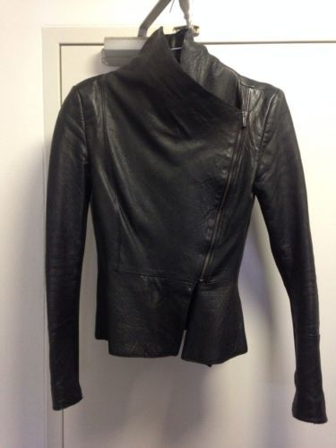 315e1bb476 KOOKAI! HERO  WATERFALL LEATHER JACKET RRP 550! + SIZE 36 2 IN 1  CONVERTIBLE! in Clothing