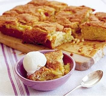 Apple Sponge Cake Recipe Easy - mypkworld.com