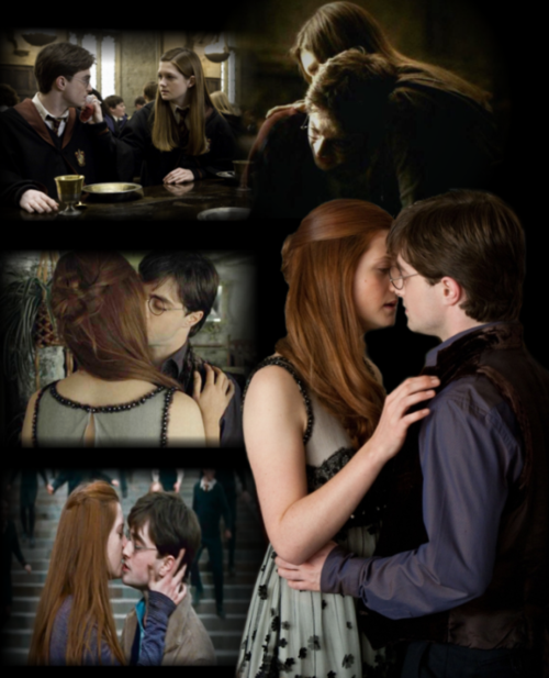 Does Harry potter and ginny weasley have
