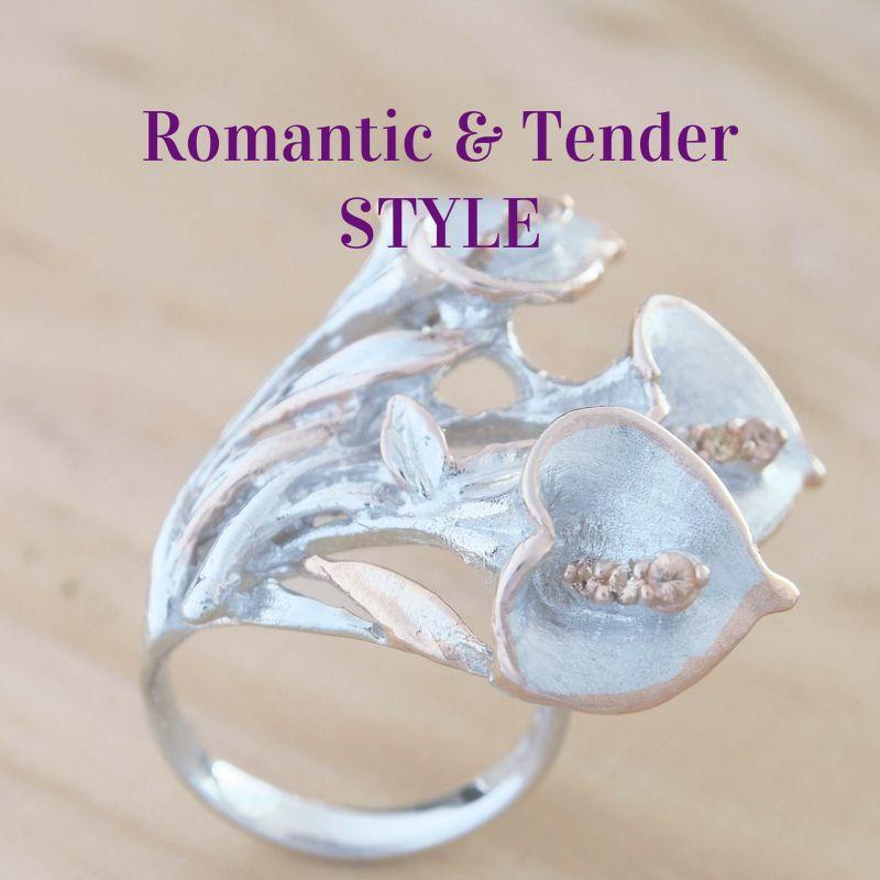 Romantic and Feminine Jewellery